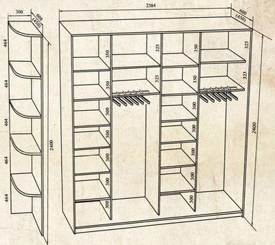 шкафы в прихожую на заказ недорого в москве