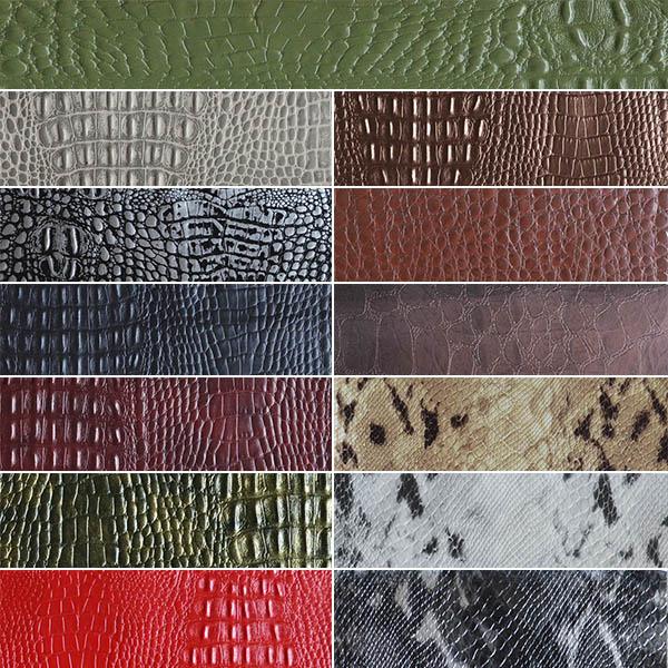 искусственная кожа для мебели под крокодила купить